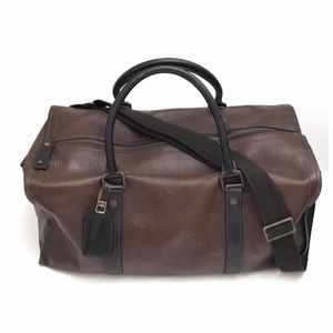 Vintage Louis Vuitton Leather Keepall 50 Duffle